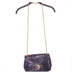 INC Black Purse with Stars